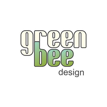green bee design